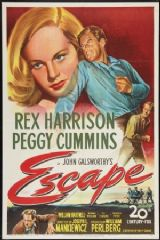 Escape 1948 DVD - Rex Harrison / Peggy Cummins